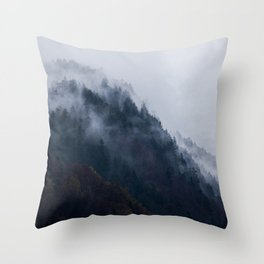 Berchtesgaden Hillside Throw Pillow