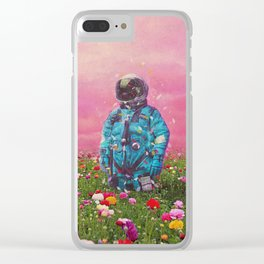 The Flower Field Clear iPhone Case