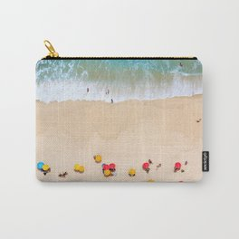 When the Man paints with the Sea Carry-All Pouch