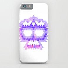 Punk Triangle Skull - Purple Slim Case iPhone 6s