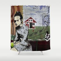 poland Shower Curtains featuring My summer in Poland by JulieAaland