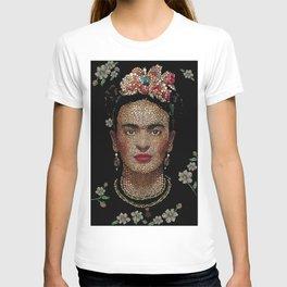 Frida Kahlo dots T-shirt