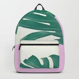 Monstera Dip Backpack