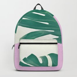 Monstera Dip Backpack
