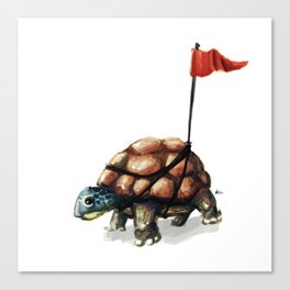 A visible turtle Canvas Print