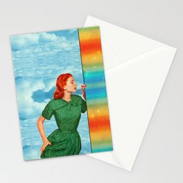 Touch the rainbow Stationery Cards