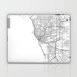 Minimal City Maps - Map Of Buffalo, New York, United States Laptop & iPad Skin