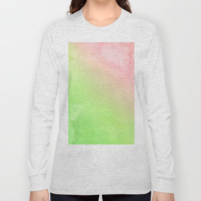 Greenery and Rose Quartz Long Sleeve T-shirt