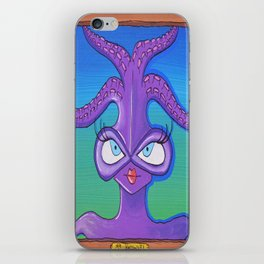 Creatch: Meet Ms. Knowvel iPhone Skin