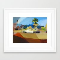 simpson Framed Art Prints featuring Simpson St. by Nuno