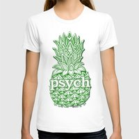 psych T-shirts featuring Psych Pineapple! by Alohalani