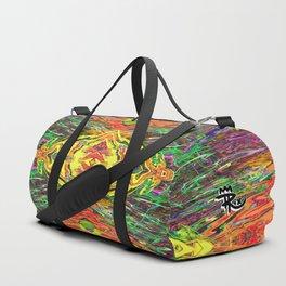 Paint Mandala 013 Duffle Bag