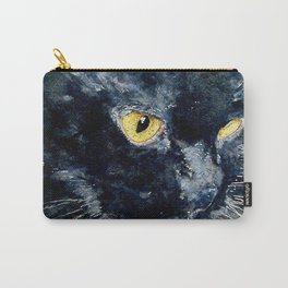Gus My Big Black Cat Carry-All Pouch