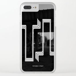 Future // Past Clear iPhone Case