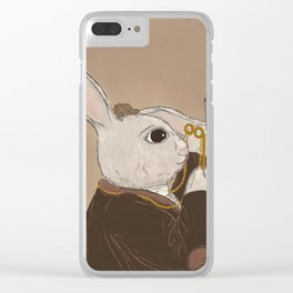 Fake Lop 2 Clear iPhone Case