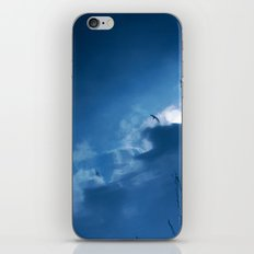 float with the tide iPhone & iPod Skin