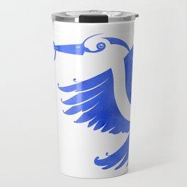 Heron (Keep it clean) Travel Mug