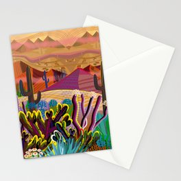 High on a Mountain Top Stationery Cards