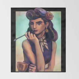 over 1900 ana watch Throw Blanket
