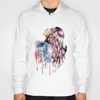 vogue Hoodies featuring Teen Vogue by Tiko Meow