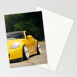 Yellow Fever Z Stationery Cards