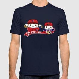 Santi y Sebas Baseball T-shirt