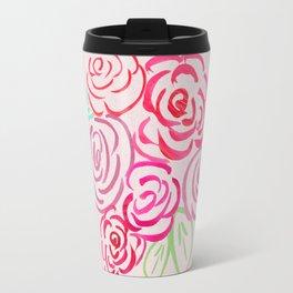Glorious Rose bunch Travel Mug