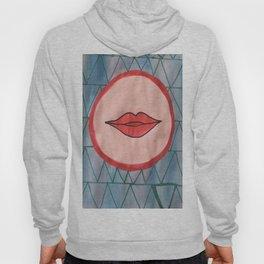 painted lips Hoody