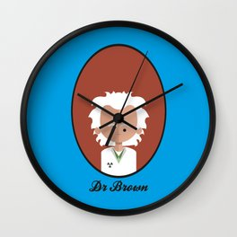 Dr Brown Wall Clock