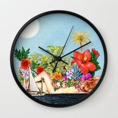 Siren Island Wall Clock