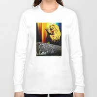 hedwig Long Sleeve T-shirts featuring Midnight Radio - Hedwig and the Angry Inch by Danielle Tanimura