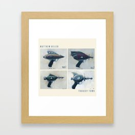 Tragedy Town official EP artwork  Framed Art Print