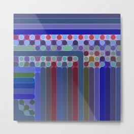 Spots, Dots, and Stripes Metal Print