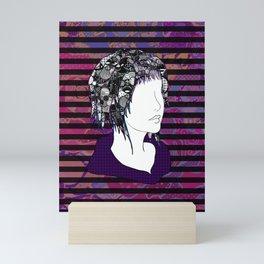 Ambiversion Dye Mini Art Print