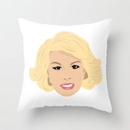 Joan Rivers Throw Pillow