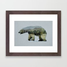 The Polar Bear Framed Art Print