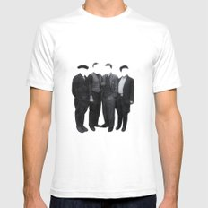 Old Friends Mens Fitted Tee White X-LARGE