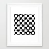 chess Framed Art Prints featuring Chess by pilastrum