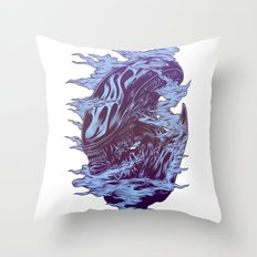 Run. Hide. Survive. Throw Pillow