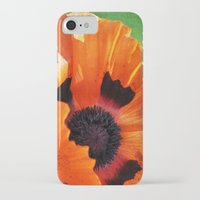 poppy iPhone & iPod Cases featuring POPPY by Teresa Chipperfield Studios