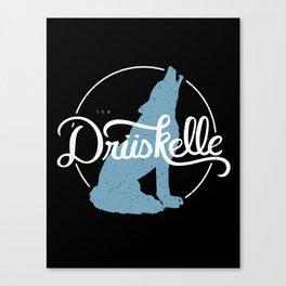 The Drüskelle Canvas Print