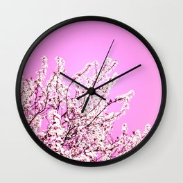 Could Be Pinker Wall Clock