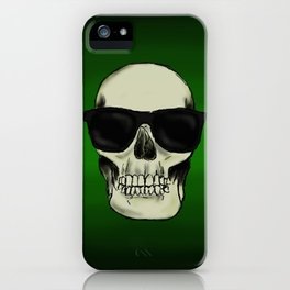 Hear No Evil, See No Evil, Speak No Evil Skulls iPhone Case