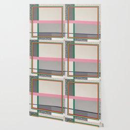 Green line - color square Wallpaper