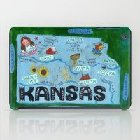 kansas city iPad Cases featuring KANSAS by Christiane Engel
