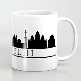 skyline new delhi Coffee Mug