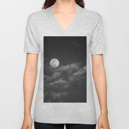 Grey Moon Unisex V-Neck