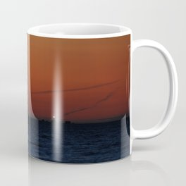 Lonely lighthouse at Dungeness Spit, WA Coffee Mug
