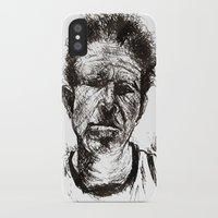 tom waits iPhone & iPod Cases featuring Tom Waits Bad As Me  by b_ethany
