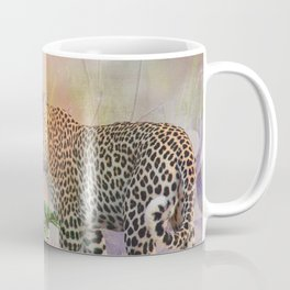 The Rose and the Leopard Coffee Mug
